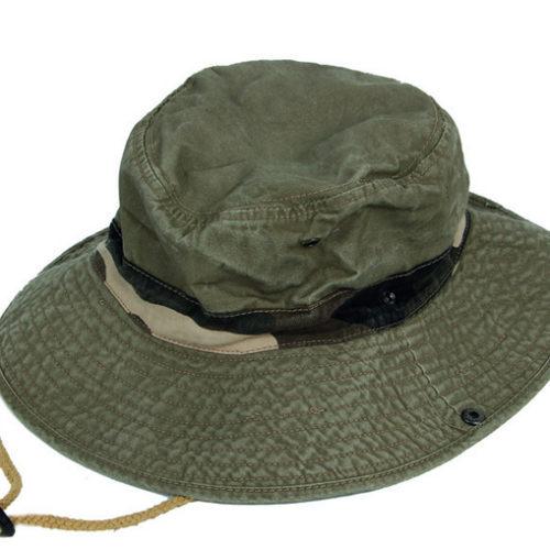 Βαμβακερό καπέλο Stripes
