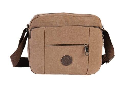 Ανδρική τσάντα από καμβά