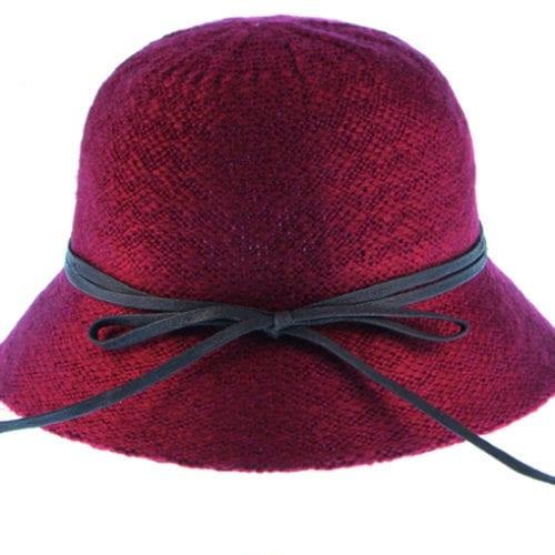 Μάλλινο γυναικείο καπέλο 1