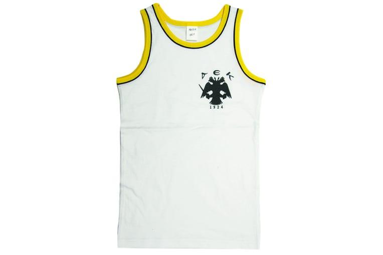 Αμάνικο μπλουζάκι ΑΕΚ