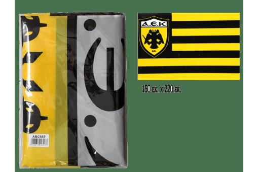Σημαία ΑΕΚ 150x220