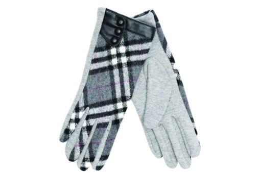 Καρό γάντια Stamion Accessories