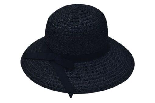 Καπέλο με μονόχρωμη κορδέλα Stamion