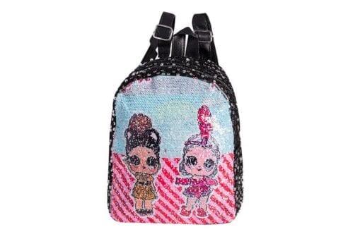 Love Sequin Backpack