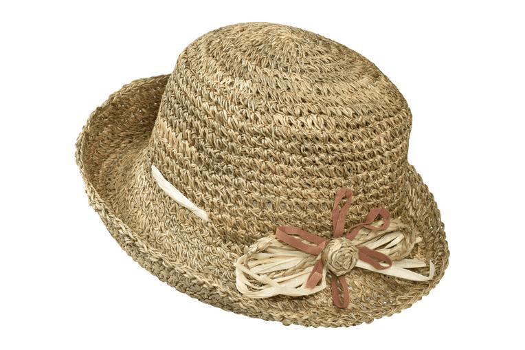 Καπέλο Visor απο φυσικό υλικό