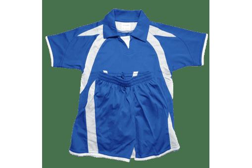 Παιδική στολή ποδοσφαίρου μπλε